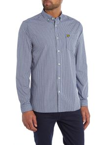 Gingham Classic Fit Long Sleeve Shirt