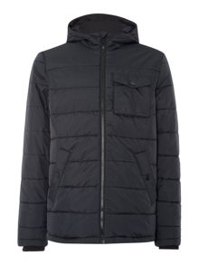 Lyle and Scott Padded Casual Fulll Zip Parka Coat