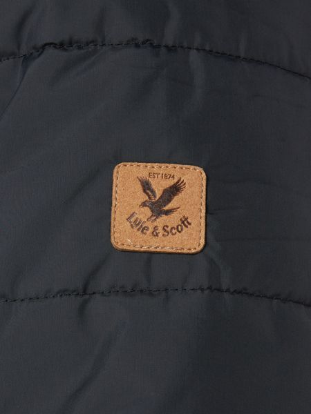 Lyle and Scott Padded Casual Full Zip Parka Coat