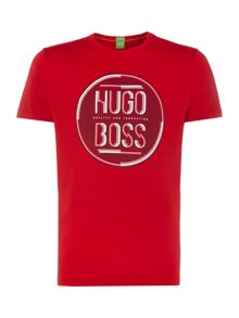 Hugo Boss Print Crew Neck Regular Fit T-Shirt