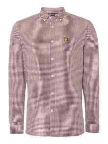 Lyle and Scott Gingham Classic Fit Long Sleeve Shirt