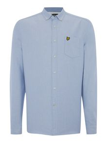 Long Sleeve Oxford Classic Collar Shirt