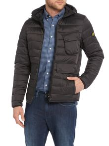 Ouston Hooded Quilted Jacket