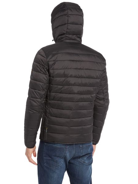 Barbour Ouston Hooded Quilted Jacket