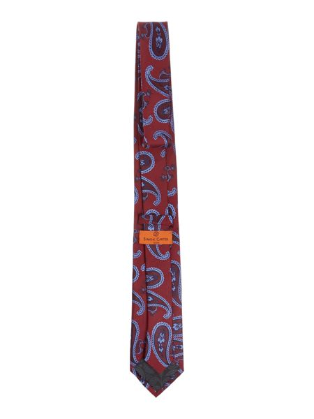 Simon Carter Patterned Tie