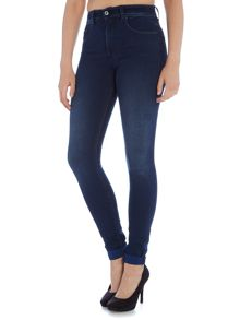 Salsa Carrie high waist push in skinny jean dark wash