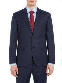 Howick Tailored Darby Birdseye Slim Fit Suit Jacket