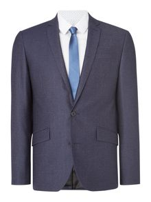 Porter Denim Texture Suit Jacket
