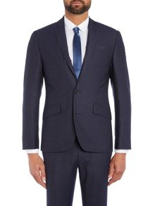 Kenneth Cole Porter Denim Texture Suit Jacket