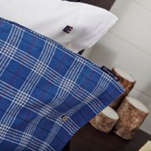 Lexington Authentic Checked Flannel Housewife Pillowcase