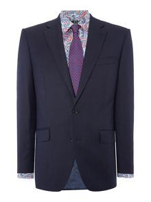 New & Lingwood Forthold Textured Suit Jacket