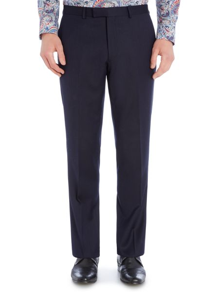 New & Lingwood Forthold Textured Suit Trouser
