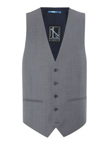 New & Lingwood Paletree Textured Suit Waistcoat