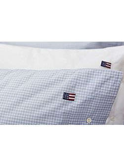 Authentic Checked Poplin Housewife Pillowcase