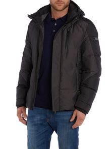 Casual Showerproof Full Zip Parka Coat