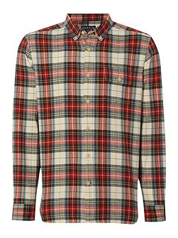 Men's Howick Miltown Check Long Sleeve Shirt