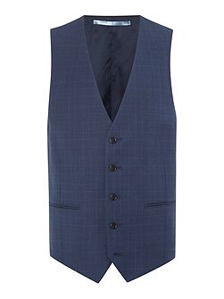 Men's New & Lingwood Eastleigh Check Suit Waistcoat