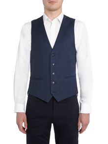 New & Lingwood Eastleigh Check Suit Waistcoat