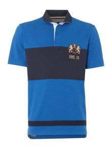 Molsom Panelled Short Sleeve Rugby Shirt