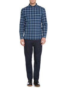 Howick Stowe Checked Long Sleeve Pullover Shirt