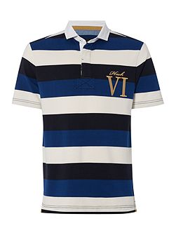 Men's Howick Staxton Striped Short Sleeve Rugby