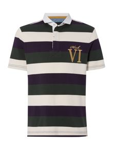 Staxton Striped Short Sleeve Rugby