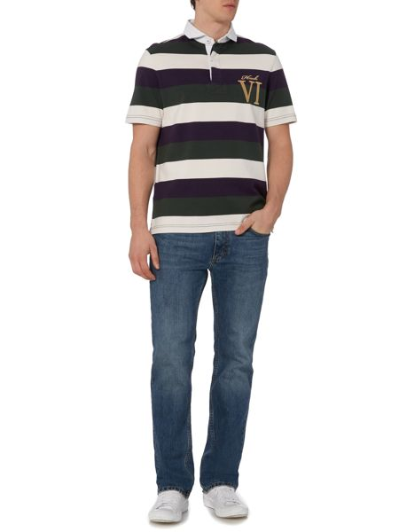 Howick Staxton Striped Short Sleeve Rugby
