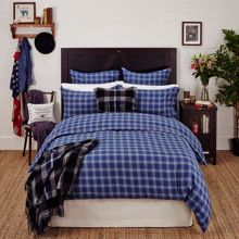 Lexington Classic Checked Wool Sham Black Multi