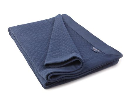 Lexington Washed Diamond Bedspread 160x240 Blue