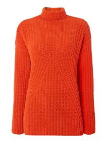 Sportmax Code Chunky high neck jumper
