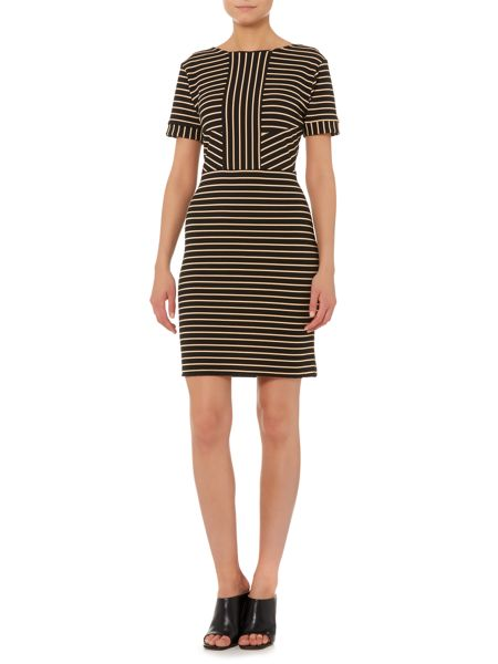 Therapy Textured stripe dress