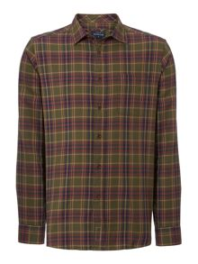 Howick Wentworth Checked Long Sleeve Shirt