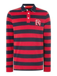 Front Up Rugby Hoop Stripe Rugby Top