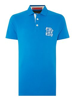 Men's Front Up Rugby Hamersley Logo Polo Shirt