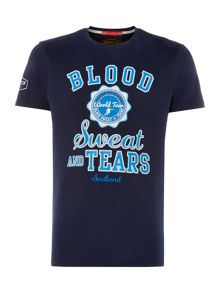 Front Up Rugby `Blood, Sweat & Tears` Logo T-Shirt