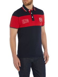 Sella Stripe England Polo Shirt
