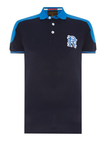 Front Up Rugby Edwards Contrast Shoulder Polo