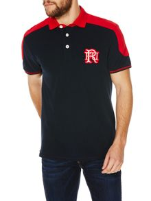 Edwards Contrast Shoulder Polo