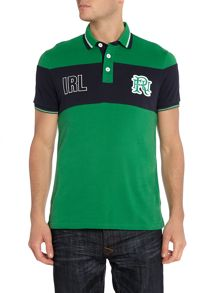 Front Up Rugby Sella Stripe Ireland Polo Shirt