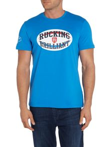 Front Up Rugby `Rucking Brilliant` Logo T-Shirt