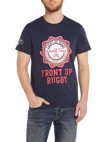 Front Up Rugby Meads World Tour Crew Neck T-Shirt