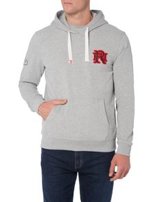 Front Up Rugby Burns Hooded Jumper