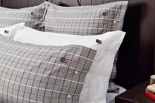 Lexington Herringbone Checked Housewife Pillowcase