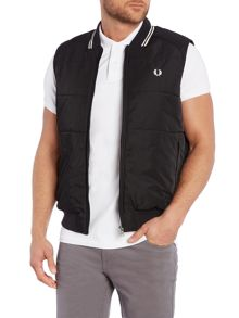 Fred Perry Twin Tipped Gilet Full Zip Gilet