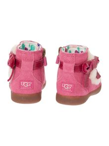 Toddlers Patent Bow Bootie