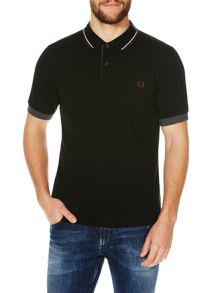 Fred Perry Double Collar Pique Polo Shirt