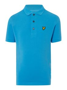 Lyle and Scott Boys Classic Small Logo Short Sleeve Polo