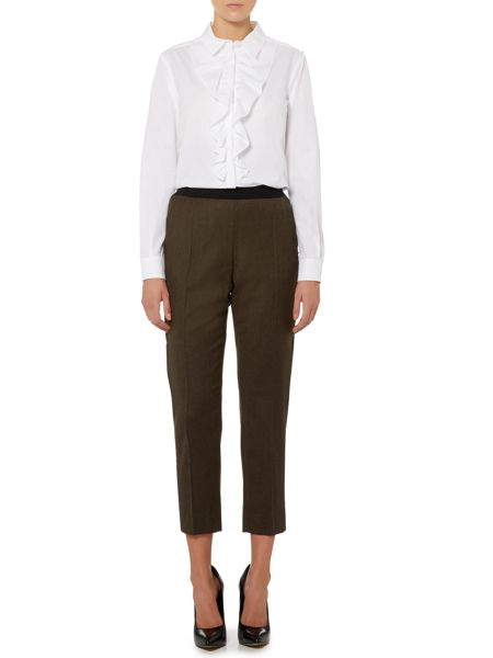 Sportmax Code Side panel slim fit trousers