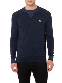 Budding Yarm Tipped Crew Neck Sweat