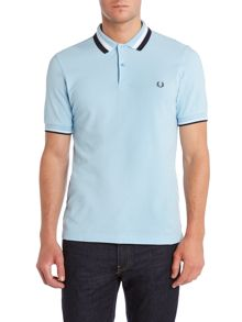 Polo Textured Bold Tipped Polo Shirt